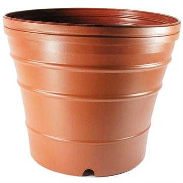 Nursery Supplies 12dg Dec Grow Bio Molded Pot Terra Cotta