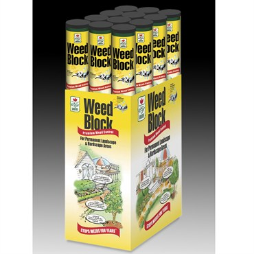Easy Gardener Weed Block 3u0027x25u0027 Roll
