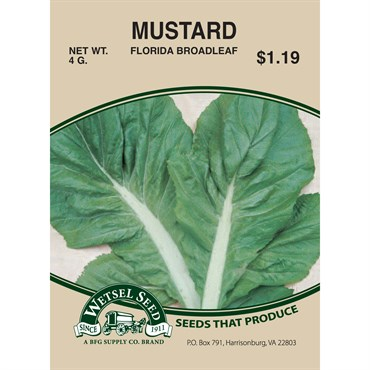 Mustard, Florida Broadleaf - 4 Gram | BFG Supply