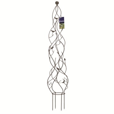 Gardman R524 Nature Metal Pot Obelisk 10.23 Wide x 47.24 High 5 Units