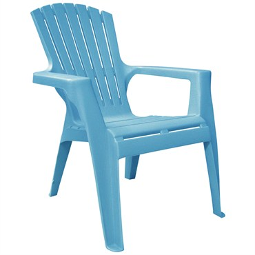 Adams Kids Adirondack Chair   Pool Blue