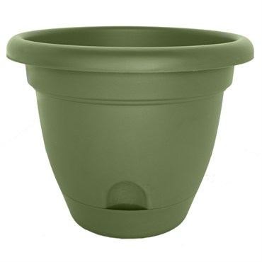 Bloem 6in Lucca Planter Living Green Bfg Supply