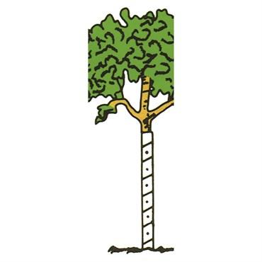 Clarks Treekote 24 Quot Bulk Treekote Vinyl Tree Guards 40 Cs