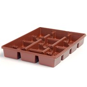 LANDMARK® SQUARE PRESS FIT TRAY - (100/CS)