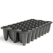 Landmark X-38ST Rose Shaped with Channels Seedling Tray - 50 Per Case