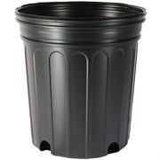 Nursery Supplies® 300CU Custom Pot Trade #1 - Blow Molded - Round - Black - Sold By 100 Per Case