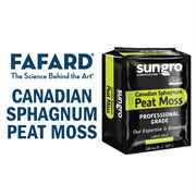 Fafard Canadian Sphagnum Peat Moss with RESiLIENCE 3.8cu ft Compressed Bale