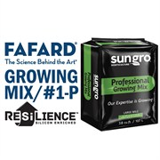 FAFARD® #1-P GROWER MIX WITH RESILIENCE™ - 3.8CU FT COMPRESSED BALE