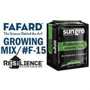 FAFARD® #F-15 GROWER MIX WITH RESILIENCE™ - 3.8CU FT COMPRESSED BALE