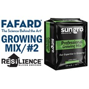 FAFARD® #2 GROWER MIX WITH RESILIENCE™ - 3.8CU FT COMPRESSED BALE