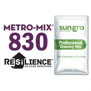 SUN GRO® METRO-MIX® 830 GROWER MIX WITH RESILIENCE™ - 2.8CU FT LOOSE FILL BAG