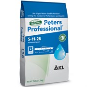 ICL-SF Peters Professional 5-11-26 Hydroponic Special Fertilizer 25lb (80/pl)