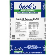 JR PETERS® JACKS PROFESSIONAL® 20-3-19 PETUNIA FEED - 25LB