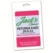 Jacks Classic Petunia 20-6-22 Samples 350 Pks