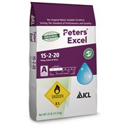 ICL Peters Excel 15-2-20 Pansy, Salvia & Vinca Fertilizer - 25lb HAZ