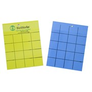 BioWorks Sticky Cards Yellow/Blue 100pk 4x5 (Direct)