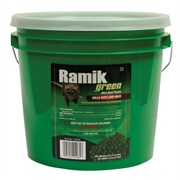 NEOGEN® RAMIK® GREEN EXTRUDED RODENTICIDE - 3/16IN PELLETS, 43G PACKS, 45CT TUB