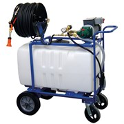 DRAMM Hydra Sprayer 50gal 150ft 1/4in Hose 120 Volt