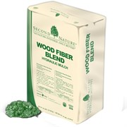 Second Nature Wood Fiber Blend Hydraulic Mulch 50lb
