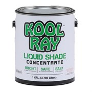 Continental Products Kool Ultra Ray Liquid Shade White  1gal