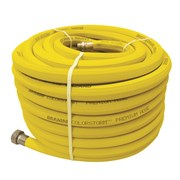 DRAMM COLORSTORM™ PROFESSIONAL RUBBER HOSE - 5/8IN, 100FT, YELLOW  (1/CS)