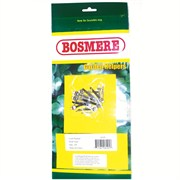 Bosmere 10pk Lead Headed Wall Nails