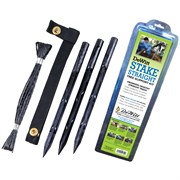 "Dewitt 15"" Plastic Tree Stake Kit"