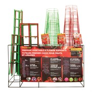 Panacea 86pc Large Red Tomato Cage Display