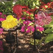 Echo Valley® Solar Flower Stake 12Pc Display Assort 1/cs