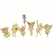Fairy Figurine 6Pc Set Ass'T. 4/cs