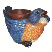 MCarr Blue Bird with Food Bowl (4/cs)