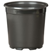 DILLEN® CO-EXTRUDED ROUND 6IN POTS - BLACK - (294/CS)