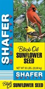 Shafer Black Oil Sunflower - Generic Bag - 25lb