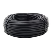 NETAFIM™ POLYETHYLENE PRE-PUNCHED TUBING - BLACK / INSIDE DIAM .820IN, OUTSIDE DIAM .940IN. COIL LENGTH - 1000FT