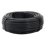 NETAFIM™ POLYETHYLENE PRE-PUNCHED TUBING - BLACK / INSIDE DIAM .520IN, OUTSIDE DIAM .620IN. COIL LENGTH - 1000FT