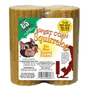C&S Sweet Corn Squirrelog 2pk