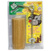SWEET CORN SQUIRRELOG W/HANGER 12/CS