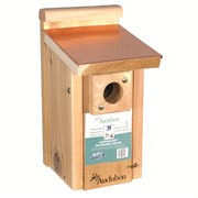 WOODLINK AUDUBON COPPER TOP & CEDAR BLUEBIRD HOUSE