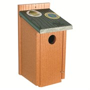 WOODLINK AUDUBON GOING GREEN BLUEBIRD HOUSE