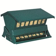 HERITAGE FARMS GREEN ABSOLUTE II TWO SIDED FEEDER WITH WINDOWS