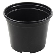Grower Select 6in Standard Round Pot Black 660/cs