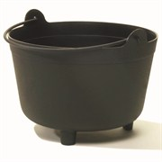 NOVELTY 12.00 ANTIQUE KETTLE BLACK 6/CS