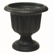 NOVELTY 14IN CLASSIC URN BLACK 12/CS