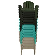 Adams 24pc RealComf Mix Adirondack Gray Blk Teal