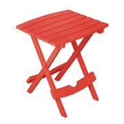 Adams Quik Fold Side Table Cherry Red