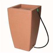 Algreen Madison 49gal Rain Barrel - Terra Cotta