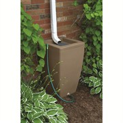 Algreen Madison 49gal Rain Barrel - Sandstone