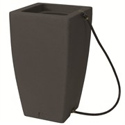 Algreen Madison 49gal Rain Barrel - Charcoal Stone