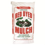 2cf Dyed Red Mulch Mixed Species