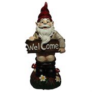 Alpine Mooning WelcomeGnome with Pants Down
